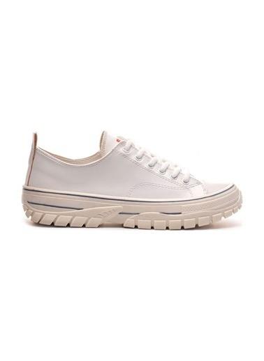 Bulldozer 211909 Kadın Spor Ayakkabı Beyaz